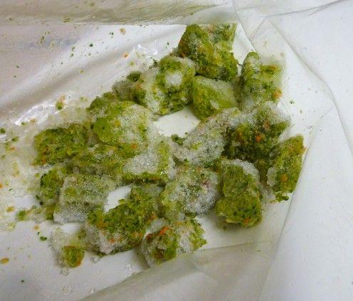 Frozen de casă Cichlid alimentar.